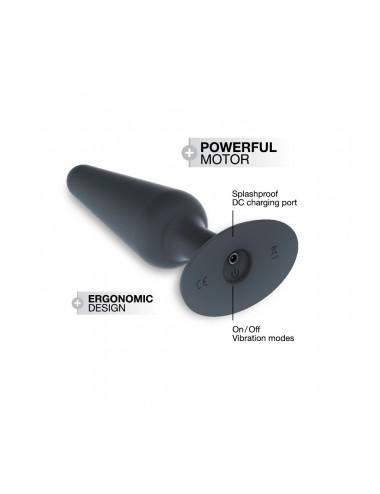 Sextoys - Plugs - Plug Best Vibe M couleur noir avec 12 modes de vibration - Dorcel