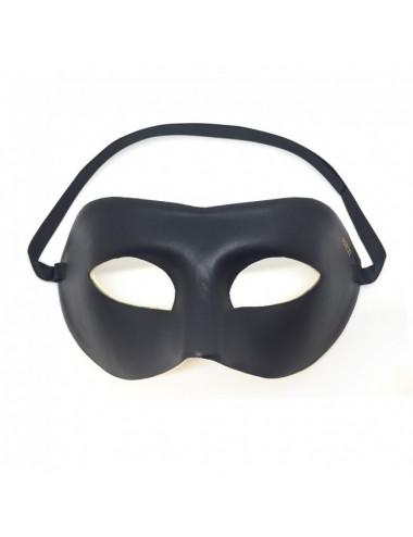 Sextoys - Masques, liens et menottes - Masque imitation cuir noire de Dorcel - DO-5556 - Dorcel