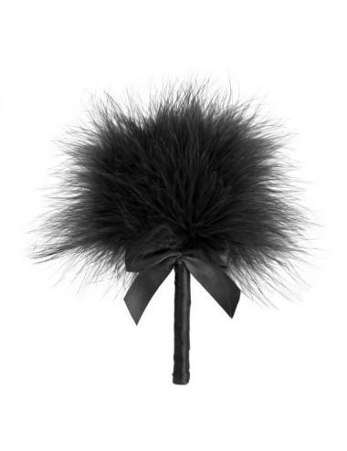 Sextoys - Masques, liens et menottes - Tickle Me Tickler Plumeau noire et doux - BI-3948 - Bijoux Indiscrets