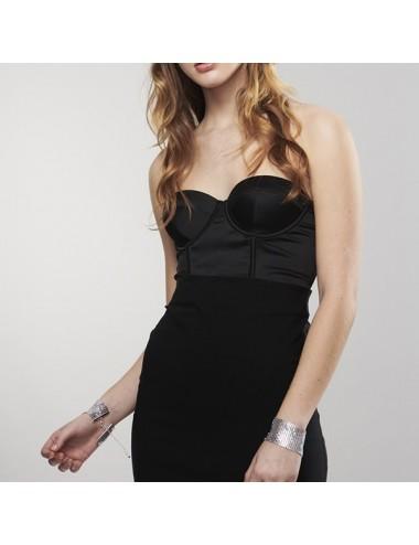 Sextoys - Masques, liens et menottes - Desir Métallique Menottes bracelet glamour couleur Argent - Bijoux Indiscrets