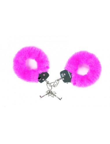 Sextoys - Masques, liens et menottes - Menottes Attach me - Rose - Love to Love