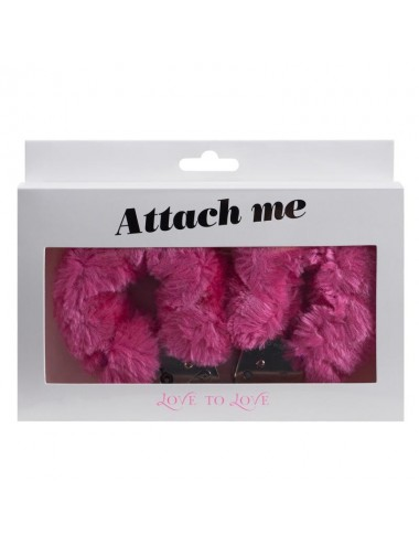 Menottes Attach me - Rose