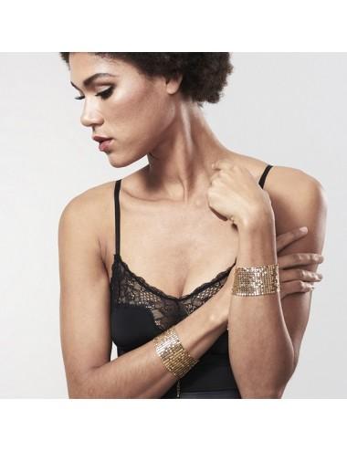 Sextoys - Masques, liens et menottes - Désir Métallique - Menottes - Or - Bijoux Indiscrets