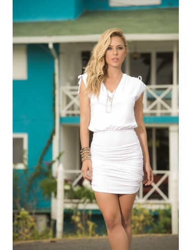 Lingerie - Robes et jupes sexy - Robe Style 4917 - Blanc - Mapalé
