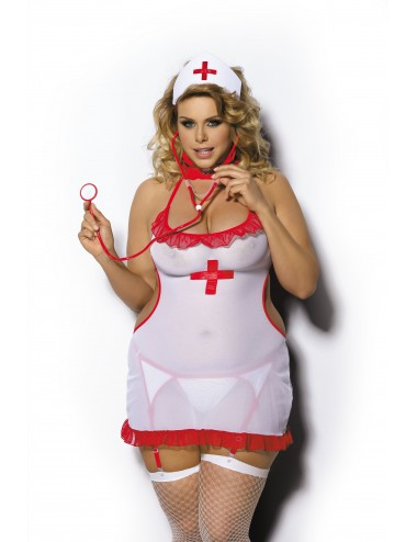 Lingerie - Grande Tailles - Shane Costume Infirmière - Anaïs