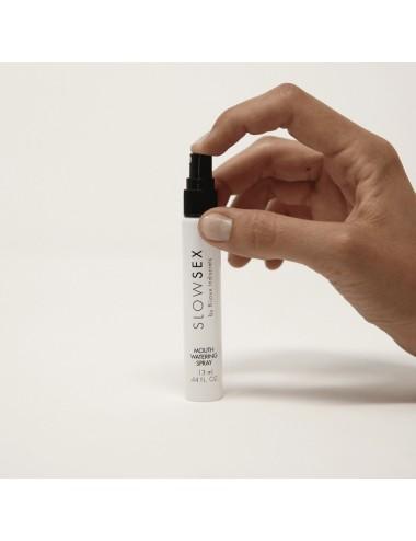 Spray citronné activateur de salive Slowsex 13ml - BI-03324 - Plaisirs Intimes - Bijoux Indiscrets