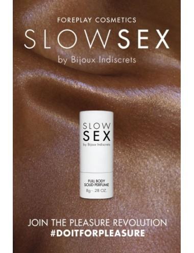 Baume Slowsex solide intime 8g Bijoux indiscrets - BI-03323 - Plaisirs Intimes - Bijoux Indiscrets