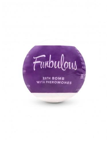 Bombe de bain aromatique aux phéromones pétillantes Fun 100 g - Plaisirs Intimes - Obsessive