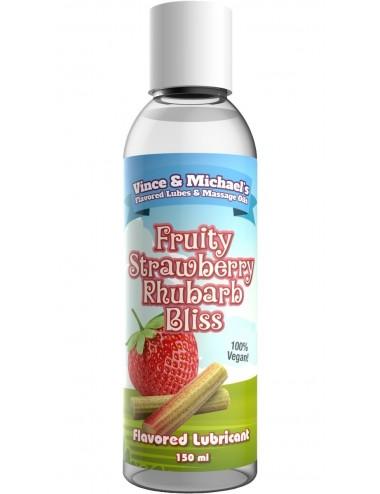 Lubrifiant gourmand VM Saveur Fraise Rhubarbe 150ml - Lubrifiants - Swede