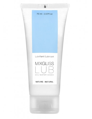 Mixgliss Eau - Lub Nature 70 ml - Lubrifiants - Mixgliss