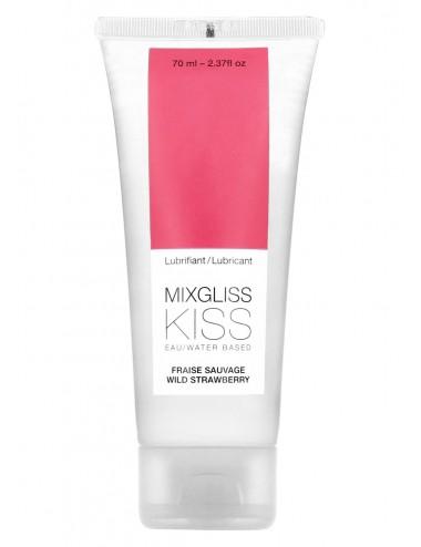 Mixgliss Eau - Kiss Fraise Sauvage 70 ml - Lubrifiants - Mixgliss