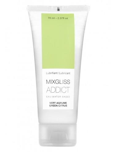 Mixgliss Eau - Addict Vert Agrume 70 ml - Lubrifiants - Mixgliss
