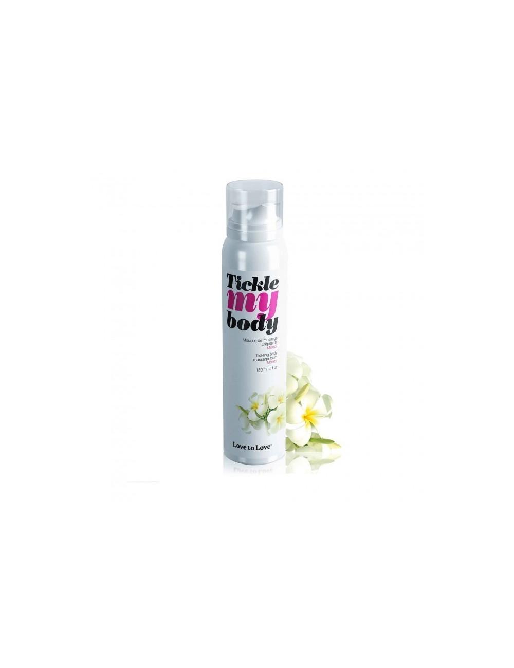 La mousse de massage Tickle My Body Monoï 150ML - LTL-04527 - Huiles de massage - Love to Love