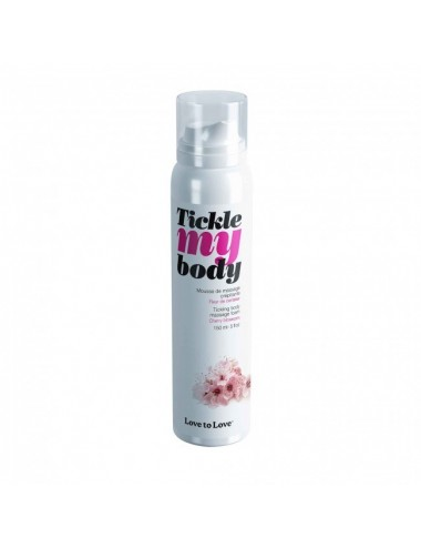 Tickle My Body Fleur de Cerisier - 150ML - Huiles de massage - Love to Love