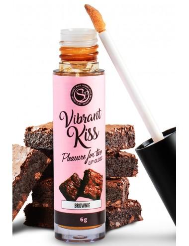Gloss sexe oral vibrant au brownie - SP6553 - Lubrifiants - Secret Play