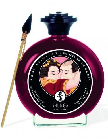 Peinture de corps comestible fraise - CC817002 - Peintures de Corps - Shunga