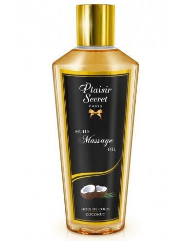 Huile de massage sèche noix de coco 250ml - CC826074 - Huiles de massage - Plaisirs Secrets