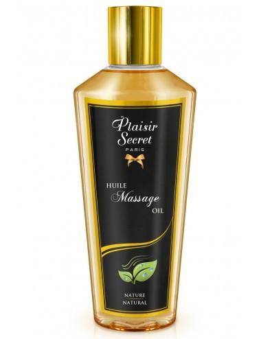 Huile de massage sèche nature 250ml - CC826070 - Huiles de massage - Plaisirs Secrets