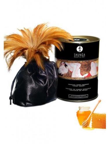 Poudre de massage corporelle comestible miel des nymphes 228grs - CC3003 - Huiles de massage - Shunga