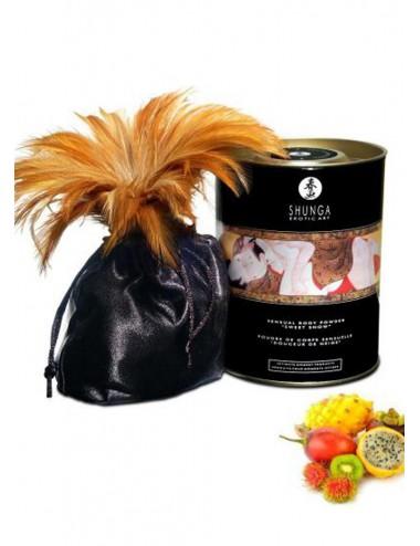 Poudre de massage corporelle comestible fruits exotiques 228grs - CC3002 - Huiles de massage - Shunga