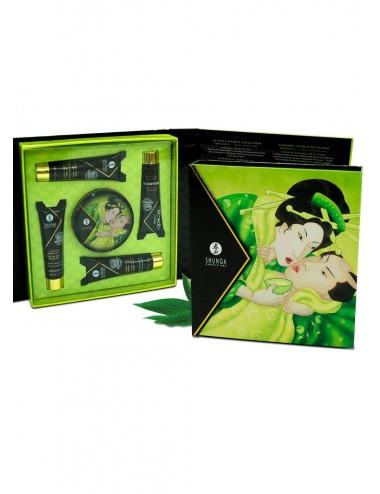 Coffret de Geisha Bio thé vert - CC818003 - Huiles de massage - Shunga