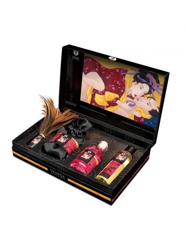 Coffret sensuel huiles de massage - CC819500 - Huiles de massage - Shunga