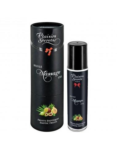 Huile de massage comestible fruits exotiques 59ml - CC826004 - Huiles de massage - Plaisirs Secrets