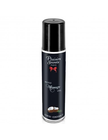 Huile de massage comestible coco 59ml - CC826003 - Huiles de massage - Plaisirs Secrets