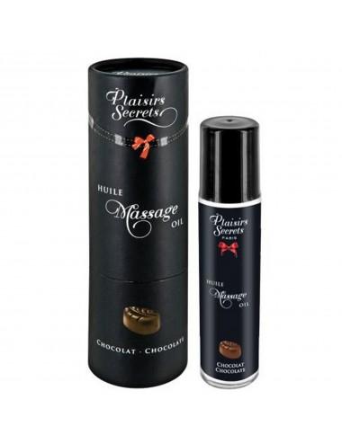 Huile de massage comestible chocolat 59ml - CC826001 - Huiles de massage - Plaisirs Secrets