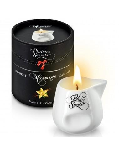 Bougie de massage vanille 80ml - CC826010 - Bougies de massage - Plaisirs Secrets