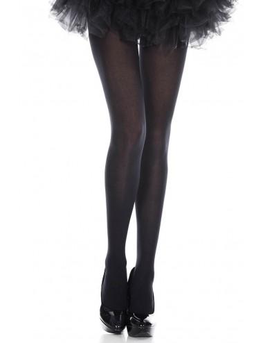 Lingerie - Collants - Collant fantaisie opaque noir - MH747BLK - Music Legs