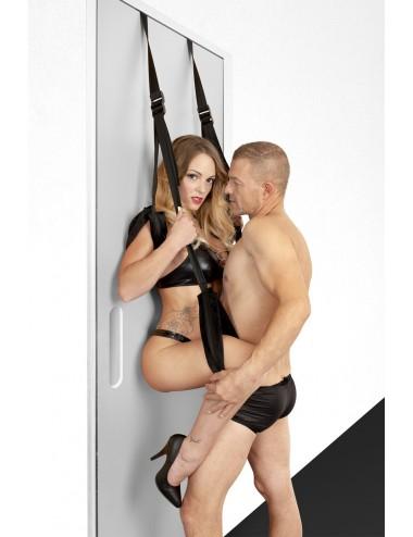 Sextoys - Menottes & accessoires - Balançoire de porte bras et jambes - CC570110 - Fetish Tentation