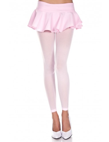 Lingerie - Leggings Sexy - Legging rose clair fin opaque et uni - MH35747BPK - Music Legs
