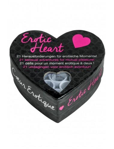 Sextoys - Jeux coquins - Jeu de défis Erotic Heart - E26395 - Tease Please