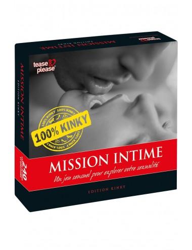 Sextoys - Jeux coquins - Mission Intime 100% Kinky - E25788 - Tease Please