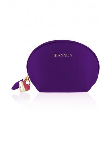 Sextoys - Oeufs Vibrants - Trousse cosmétique et œuf vibrant vibrante USB - E27845 - Rianne S