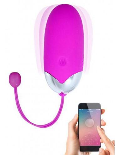 Sextoys - Oeufs Vibrants - Oeuf vibrant puissant USB avec application smatphone - CC530145 - Pretty Love