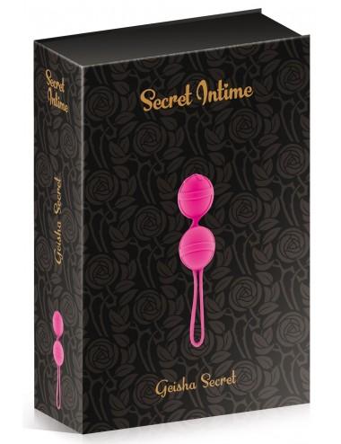 Sextoys - Boules de Geisha - Boules de Geisha fuchsia - CC5720010204 - Plaisirs Secrets