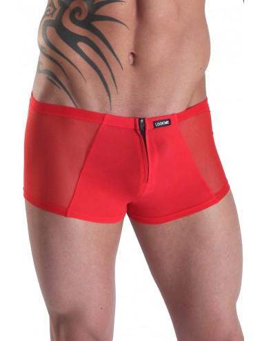 Mini Pant  rouge avec double zip Wiz - LM16-68RED