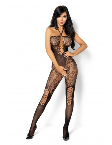 Lingerie - Combinaisons - Rebecka Bodystocking - Noir - Beauty Night