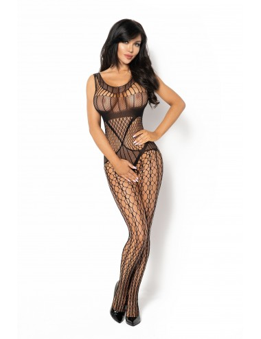 Lingerie - Combinaisons - Juliya Bodystocking - Noir - Beauty Night