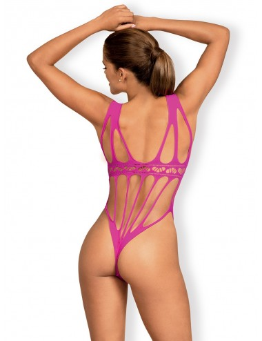 Lingerie - Bodys - B121 Body - Rose - Obsessive