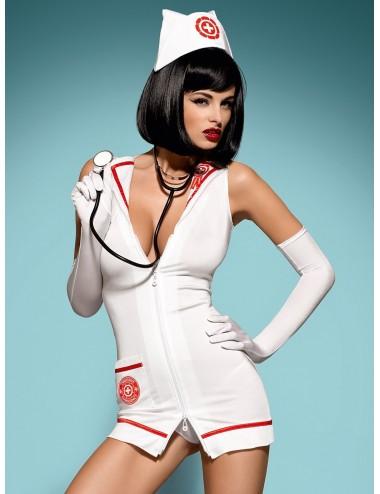 Emergency Costume - Blanc  Rouge