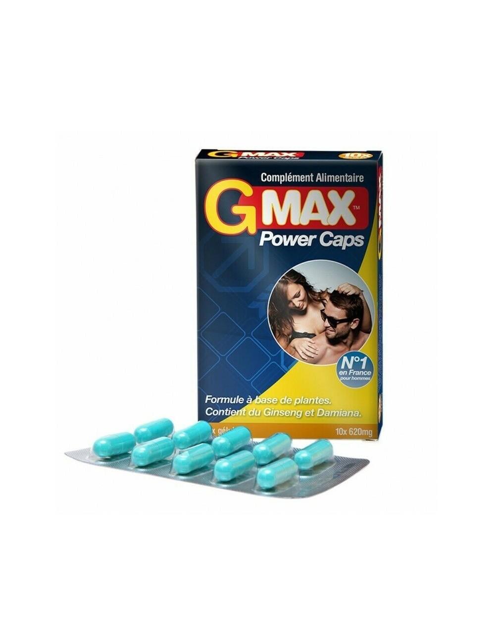Gmax 10 gélules