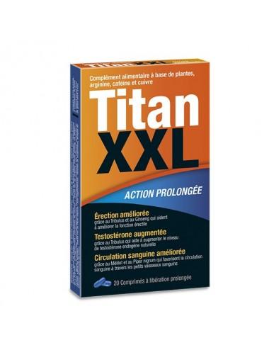 Complément alimentaire Titan XXL 20 gélules - LAB-3795 - Aphrodisiaques - Labophyto