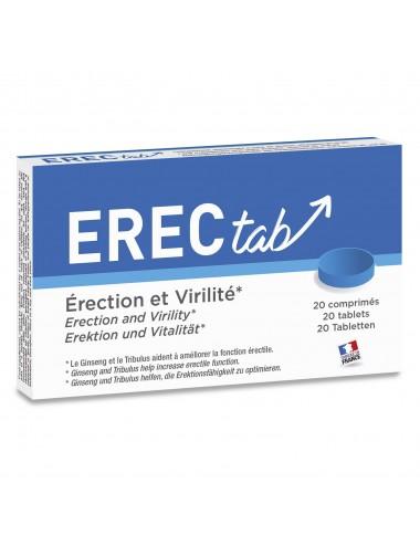ErecTab stimulant 20 Comprimés - LAB-3794 - Aphrodisiaques - Labophyto
