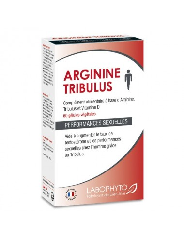 Arginine Complement alimentaire Tribulus 60 gélules - Aphrodisiaques - Labophyto