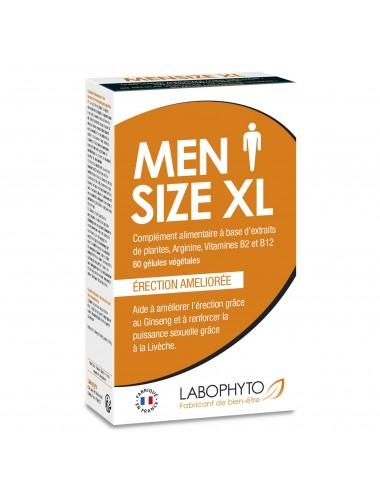 Mensize XL 60 gélules a base d'extraits naturels - Aphrodisiaques - Labophyto