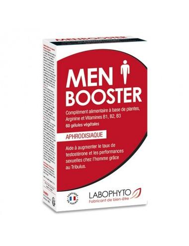 Menbooster 60 gélules aux extraits végétaux et vitamines - Aphrodisiaques - Labophyto