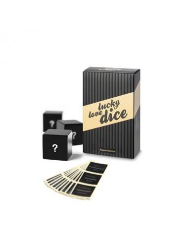Sextoys - Jeux coquins - Dés Lucky Love Personnalisables - Bijoux Indiscrets